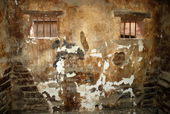 Old jail cell. Old and dirty jail cell Stock Image