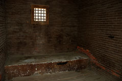 Old jail cell Stock Photo
