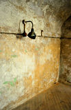 Old Jail Cell at Eastern State Penitentiary Stock Image