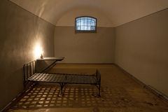 Old jail cell Stock Images