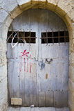 Old jail door Royalty Free Stock Photography