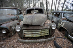 Old Jalopy Royalty Free Stock Photography