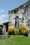 Old Jamaican Church. On a hill Stock Photography
