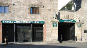 Old jameson distillery Royalty Free Stock Photo