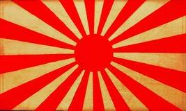 Old Japan flag background 2. Vintage Japan flag on old paper background stock photos