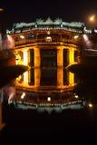 Old japanese bridge at night in Hoi An Royalty Free Stock Photos