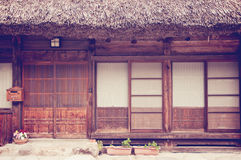 Old japanese house Stock Image