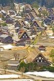 Old Japanese house in Shirakawago. Stock Images