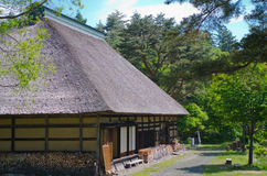 Old Japanese house Stock Photography