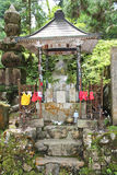 Old japanese shrine in Okunoin cemetery Royalty Free Stock Images