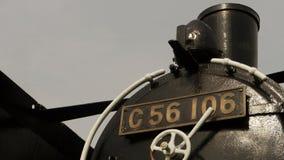 Old Japanese steam locomotive Stock Image