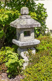 Old Japanese stone lantern Stock Photography