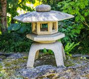 Old Japanese stone lantern Royalty Free Stock Photography