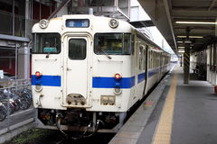 Old Japanese train. In the Kagoshima, japan Stock Photos
