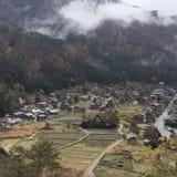 Old Japanese village Stock Image