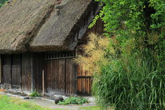 Old japanese wooden house Royalty Free Stock Photo