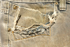 Old jean Royalty Free Stock Image