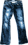 Old Jean. Royalty Free Stock Photography