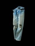 Old jeans Stock Photography