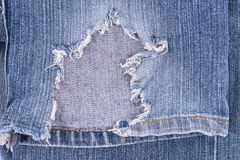 Old jeans Royalty Free Stock Photos