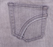 Old jeans pocket Royalty Free Stock Photography