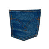 Old jeans pocket Royalty Free Stock Photos