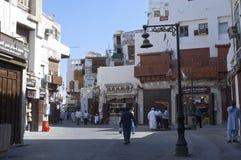 Old Jeddah Balad The old market in Jeddah. pre-Islam era, Saud. I Arabia Royalty Free Stock Photo