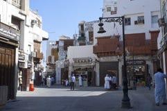 Old Jeddah Balad The old market in Jeddah. pre-Islam era, Saud. I Arabia Royalty Free Stock Photos