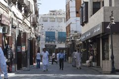 Old Jeddah Balad The old market in Jeddah. pre-Islam era, Saud. I Arabia Stock Image