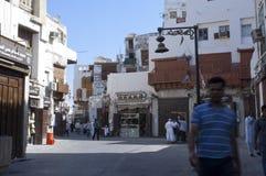 Old Jeddah Balad The old market in Jeddah. pre-Islam era, Saud. I Arabia Royalty Free Stock Images