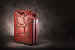 Old jerry can Stock Photos