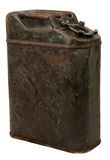 Old jerrycan Stock Image