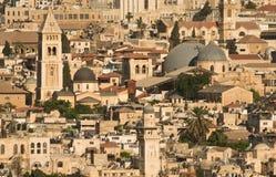 Old Jerusalem. A view of the old city of Jerusalem Stock Photo