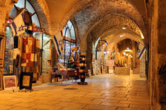 Old Jerusalem of Roman period. After reconstruction royalty free stock photography