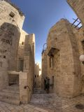 Old jerusalem streets Stock Image
