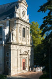 The old Jesuit church in Blois, Paris Royalty Free Stock Photo