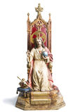 Old Jesus Christ Sculpture Royalty Free Stock Image