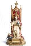 Old Jesus Christ Sculpture Stock Photo