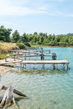 Old Jetties Royalty Free Stock Photos