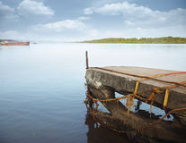 Old jetty Stock Photo