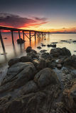 Old jetty Stock Photography