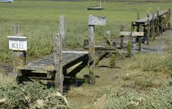 Old Jetty at Bosham. Sussex. England Stock Photo