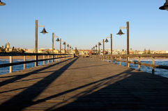 Old jetty in Swakopmund, Namibia Stock Photography