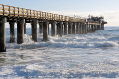 Old jetty in Swakopmund Namibia Royalty Free Stock Image