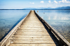 Old jetty Royalty Free Stock Image