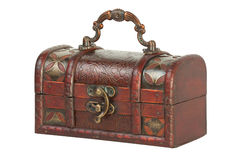 Old jewelry box Royalty Free Stock Images