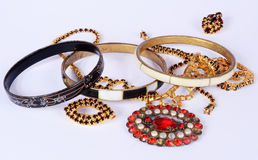 Old jewelry Stock Image