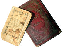 Old Jewish books  Stock Photography