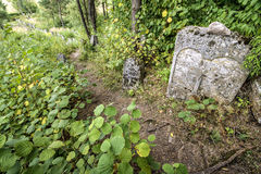 Old Jewish cementery Royalty Free Stock Photography