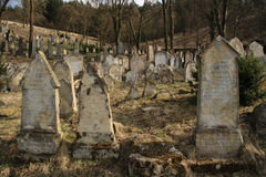 Old Jewish cemetery Stock Photo